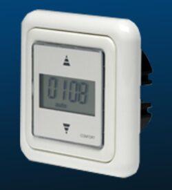 Rollotimer klokken voor buismotor besturing